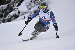 Behind the scenes on Training Day at 2018 World Para Alpine Skiing Cup, Veysonnaz, Switzerland