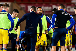 Bristol Rovers warm up at Doncaster Rovers - Mandatory by-line: Robbie Stephenson/JMP - 26/03/2019 - FOOTBALL - Keepmoat Stadium - Doncaster, England - Doncaster Rovers v Bristol Rovers - Sky Bet League One
