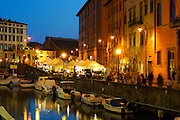 Livorno, Venice's historical district. Every summer the only ome district that survivved to the bombings of the WWII is home of Effetto Venezia Festival, when all the nights are full of lights and spectacles.