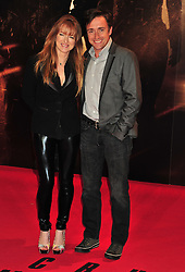 © Licensed to London News Pictures. 13/12/2011. London, England. Richard Hammond with wife Mindy attends the UK premiere of Mission Impossible - Ghost Protocol at the IMAX in London .  Photo credit : ALAN ROXBOROUGH/LNP
