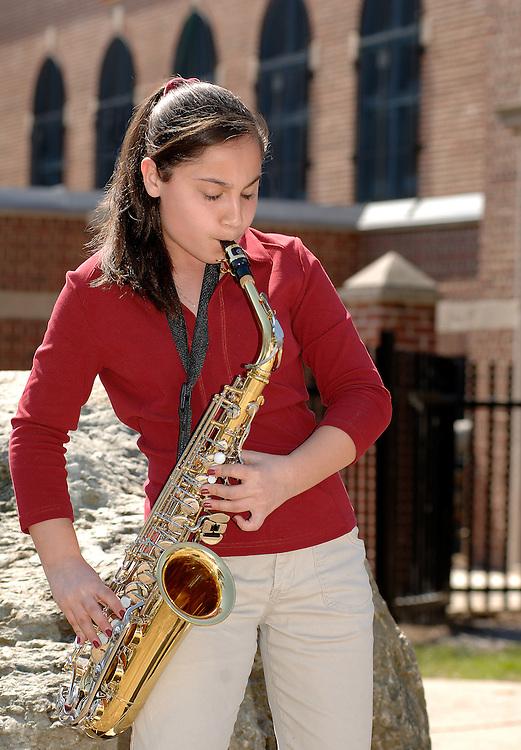 18, Student,  Musician,  Saxaphone, Boston, High, School,