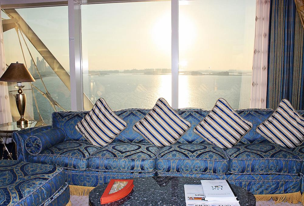 Интериор Бурж Ал Араб Хотел, Дубай