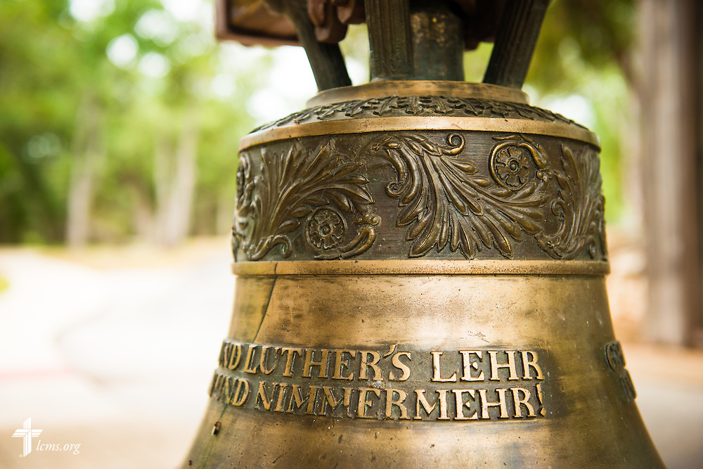 A church bell greets visitors to Concordia University Texas on Wednesday, July 16, 2014, in Austin, Texas. LCMS Communications/Erik M. Lunsford