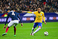 NEYMAR JR / Raphael VARANE - 26.03.2015 - France / Bresil - Match Amical<br />