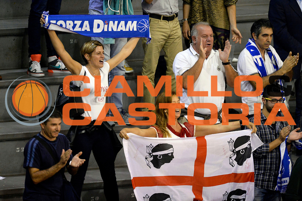 DESCRIZIONE : Pistoia Lega A 2014-2015 Giorgio Tesi Group Pistoia Banco di Sardegna Sassari<br /> GIOCATORE : tifosi<br /> CATEGORIA : tifosi<br /> SQUADRA : Banco di Sardegna Sassari<br /> EVENTO : Campionato Lega A 2014-2015<br /> GARA : Giorgio Tesi Group Pistoia Banco di Sardegna Sassari<br /> DATA : 20/10/2014<br /> SPORT : Pallacanestro<br /> AUTORE : Agenzia Ciamillo-Castoria/GiulioCiamillo<br /> GALLERIA : Lega Basket A 2014-2015<br /> FOTONOTIZIA : Pistoia Lega A 2014-2015 Giorgio Tesi Group Pistoia Banco di Sardegna Sassari<br /> PREDEFINITA :