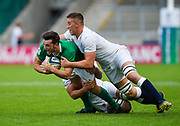 during the World Rugby U20 Championship Final   match England U20 -V- Ireland U20 at The AJ Bell Stadium, Salford, Greater Manchester, England onSaturday, June 25, 2016. (Steve Flynn/Image of Sport)