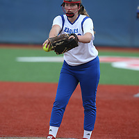 Los Altos vs Saratoga in a SCVAL girls varsity softball game at Saratoga High School, Saratoga CA on 3/12/18. (Photograph by Bill Gerth/ Max Preps)