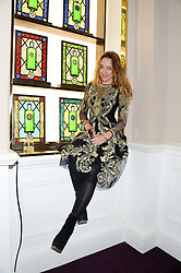 ALICE TEMPERLEY at the launch of Gordon's 'Ten Green Bottles' by Temperley London held at Temperley London Flagship, 27 Bruton Street, London on 6th November 2013.