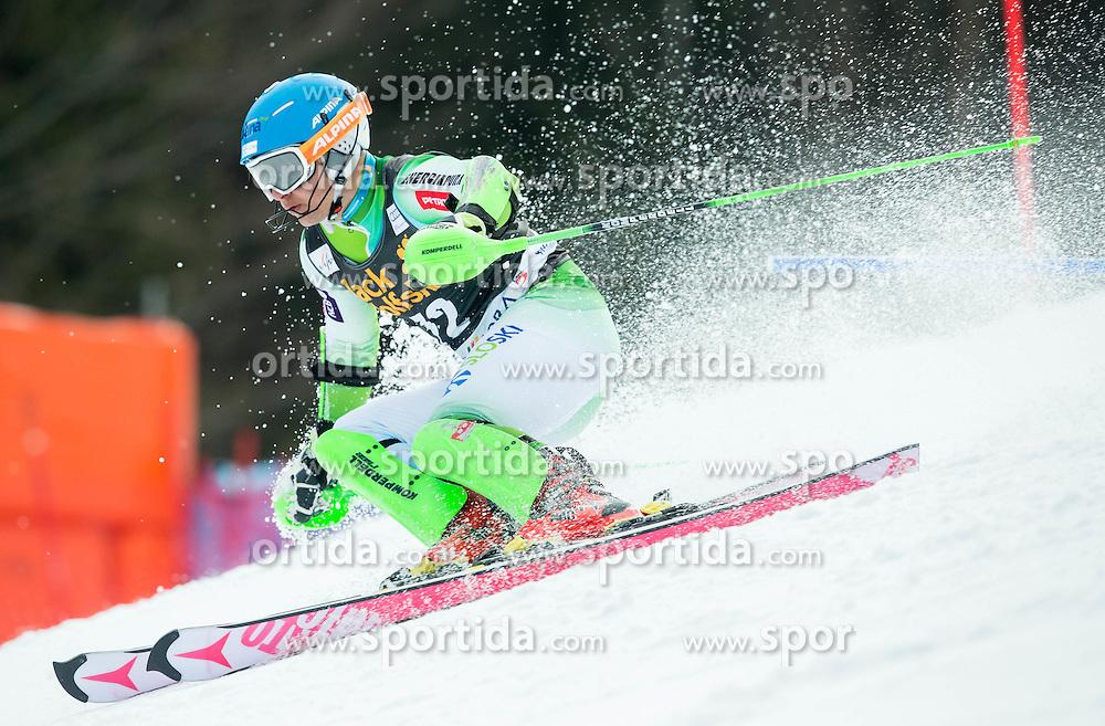 GROSELJ Zan of Slovenia competes during 1st Run of Men Slalom race of FIS Alpine Ski World Cup 54th Vitranc Cup 2015, on March 15, 2015 in Kranjska Gora, Slovenia. Photo by Vid Ponikvar / Sportida