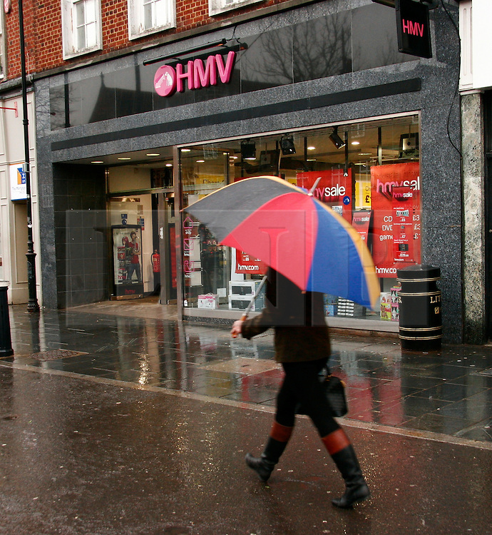 © under license to London News Pictures. 30/06/11. Ailing retailer HMV today revealed the details of a painful year in which bottom-line profits slumped to £2.6 million.FILE PICTURE DATED 06/1/2011. Photo credit should read Craig Shepheard / London News Pictures