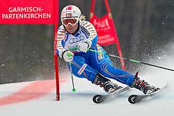 16.02.2011, Kandahar, Garmisch Partenkirchen, GER, FIS Alpin Ski WM 2011, GAP, Teambewerb, im Bild Anja Paerson (SWE) during Team Event Fis Alpine Ski World Championships in Garmisch Partenkirchen, Germany on 16/2/2011. EXPA Pictures © 2011, PhotoCredit: EXPA/ J. Groder