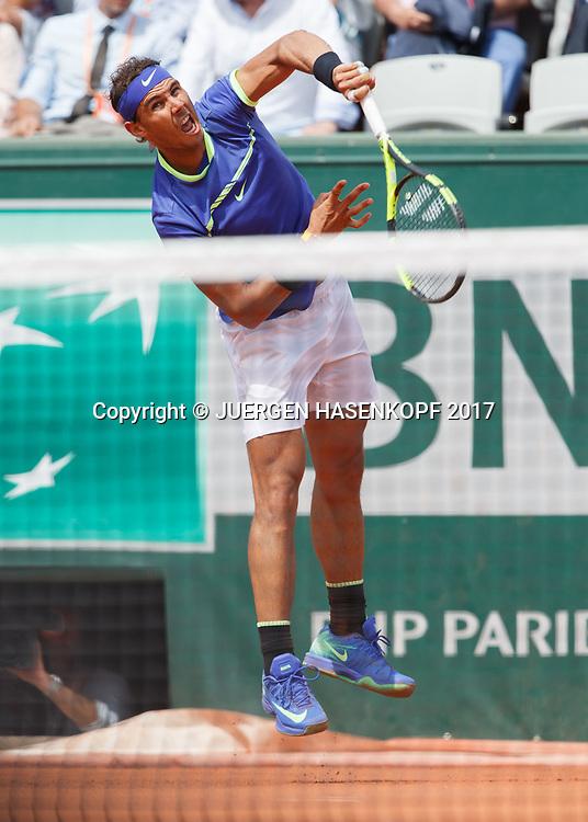 RAFAEL NADAL (ESP)<br /> <br /> Tennis - French Open 2017 - Grand Slam ATP / WTA -  Roland Garros - Paris -  - France  - 29 May 2017.