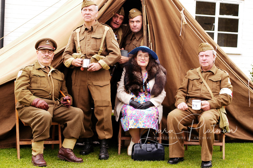 Characters and various at Goodwood Revival - BBC - Country life