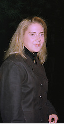 LADY ZOE APPLEYARD a good friend of Jemima Khan, at a party in London on 7th October 1997.MBY 130