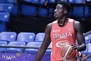 Awudu Abass<br /> Nazionale Italiana Maschile Senior<br /> Eurobasket 2017 - Group Phase<br /> Allenamento<br /> FIP 2017<br /> Tel Aviv, 31/08/2017<br /> Foto Ciamillo - Castoria/ M.Longo