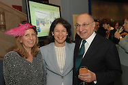 Louise Mirrer, Pam Schafler and Harold Newman.The New-York Histoircal Society.Opening of:Woven Splendor from Timbuktu to Tibet: Exotic Rugs and Textiles from New York Collectors