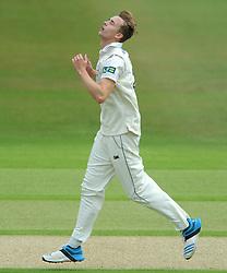 Craig Miles of Gloucestershire cuts a dejected figure - Photo mandatory by-line: Dougie Allward/JMP - Mobile: 07966 386802 - 08/07/2015 - SPORT - Cricket - Cheltenham - Cheltenham College - LV=County Championship 2