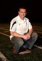 Photo: Richard Lane.<br />England RFU Press Conference. 03/01/2007. <br />New England captain, Phil Vickery.
