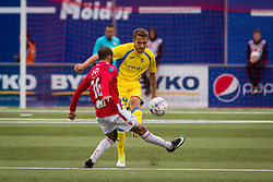 Jure Balkovec of NK Domzale during 1st Leg football match between FC Valur Reykjavik and NK Domzale in 2nd Qualifying Round of UEFA Europa League 2017/18, on July 13, 2017 in Reykjevik, Iceland. Photo by Ziga Zupan / Sportida