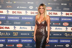 December 3, 2018 - Milan, Italy - Diletta Leotta at 'Oscar Del Calcio AIC' Italian Football Awards photocall in Milano, Italy, on December 03 2018  (Credit Image: © Mairo Cinquetti/NurPhoto via ZUMA Press)
