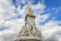 London, UK - October 4, 2012: The Victoria Memorial is located just outside the gates of Buckingham Palace