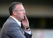 Lincoln - Wednesday, July 28th, 2010: Norwich Manager Paul Lambert pictured during the Pre Season friendly match at Sincil Bank. (Pic by Andrew Stunell/Focus Images)