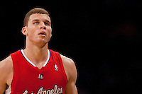 25 February 2011: Forward Blake Griffin of the Los Angeles Clippers against the Los Angeles Lakers during the second half of the Lakers 108-95 victory over the Clippers at the STAPLES Center in Los Angeles, CA.