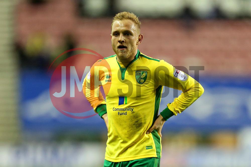 Alex Pritchard of Norwich City - Mandatory by-line: Matt McNulty/JMP - 07/02/2017 - FOOTBALL - DW Stadium - Wigan, England - Wigan Athletic v Norwich City - Sky Bet Championship