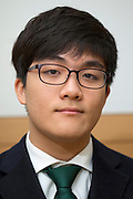 Byung jun Lee, student at the Shinil High School, Seoul, South Korea.