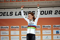 Annemiek van Vleuten (NED) wins Boels Ladies Tour 2019 - Prologue, a 3.8 km individual time trial at Tom Dumoulin Bike Park, Sittard - Geleen, Netherlands on September 3, 2019. Photo by Sean Robinson/velofocus.com