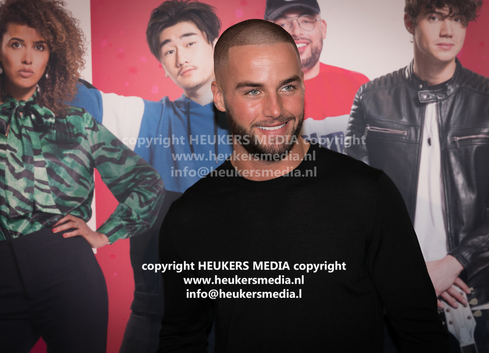 2019, September 20. Pathe ArenA, Amsterdam, the Netherlands. Donny Roelvink at the premiere of Misfit 2.