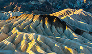 Zabriskie Point, Death Valley National Park, California.