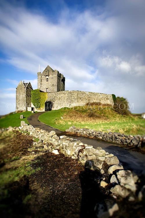 Dunguaire Castle in Kinvarra, Ireland