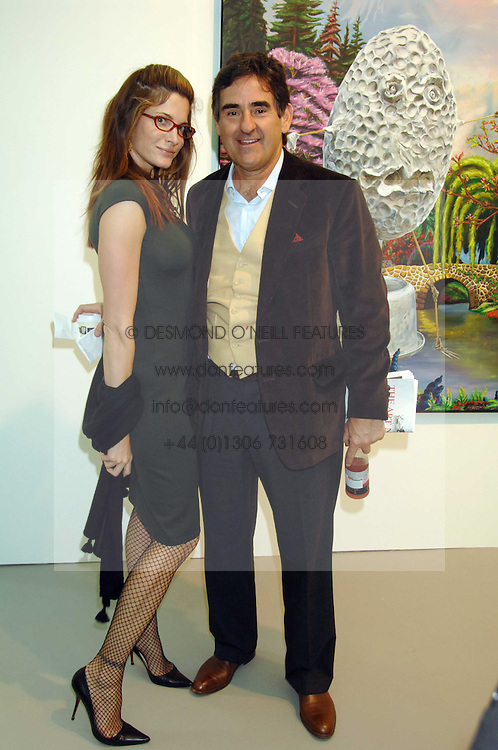 Model STEPHANIE SEYMOUR and her husband PETER BRANT at the opening of Frieze Art Fair 2007 held in regent's Park, London on 10th October 2007.<br /><br />NON EXCLUSIVE - WORLD RIGHTS