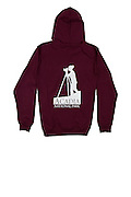 The Acadia National Park photographer's zip-up hoody, available exclusively through J.K. Putnam Photography.  Available in Maroon, women's sizes S, M, L, XL.