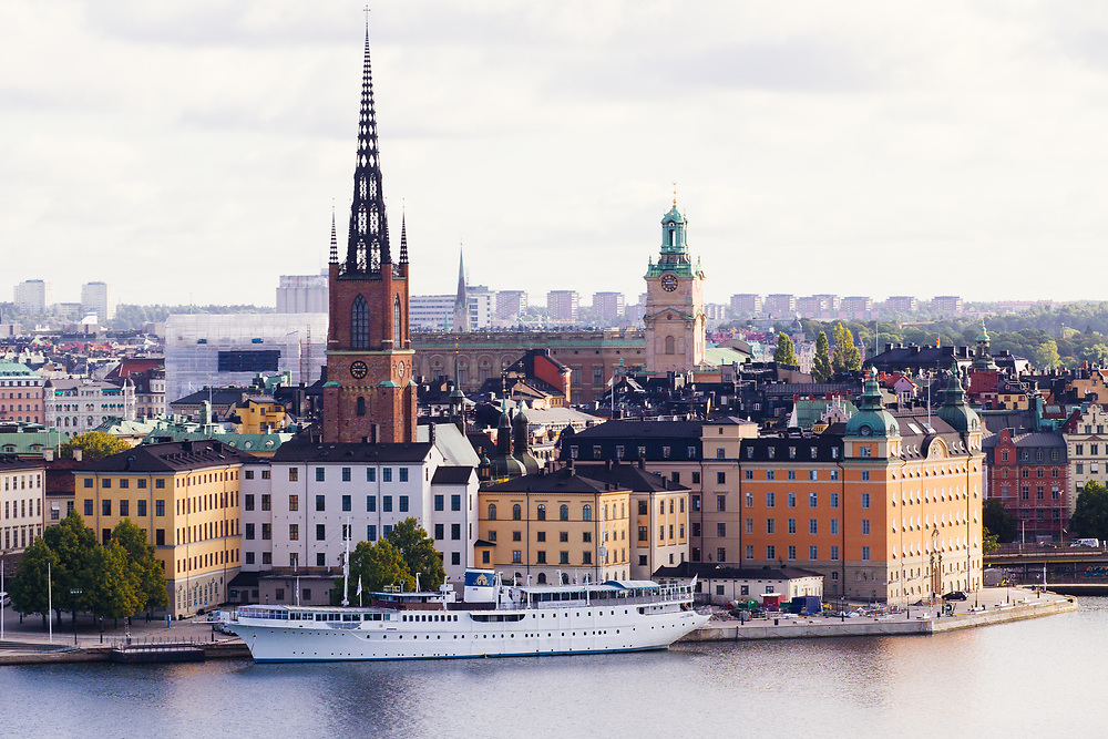 A view of Riddarholmen, Stockholm, Sweden