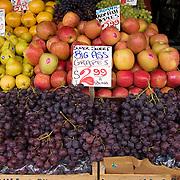 Big Ass Grapes $2.99 a pound, Franks Produce Stall, Pike Place Market, Seattle, Washington