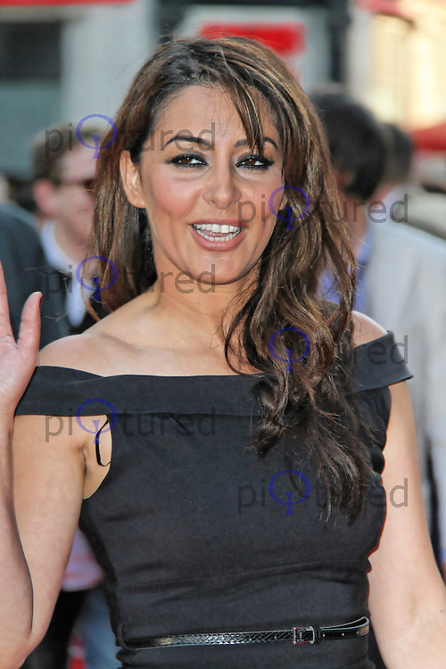 LONDON - MAY 30: Laila Rouass attends the World Film Premiere of 'Ill Manors' at the Empire Cinema, Leicester Square, London, UK. May 30, 2012. (Photo by Richard Goldschmidt)