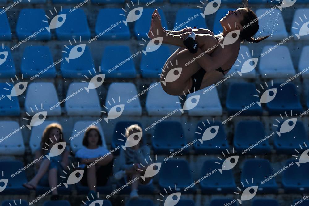 Meghan Benfeito Canada <br /> 10m piattaforma donne <br /> Roma 20-06-2016 Stadio del Nuoto Foro Italico Tuffi Campionati Italiani <br /> Foto Andrea Staccioli Insidefoto