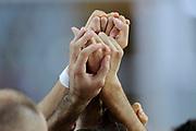 DESCRIZIONE : Capodistria Koper Nazionale Italia Uomini Adecco Cup Slovenia Slovenia Italia Italy<br /> GIOCATORE : mani<br /> CATEGORIA : ritratto mani<br /> SQUADRA : Italia Italy<br /> EVENTO : Adecco Cup<br /> GARA : Slovenia Slovenia Italia Italy<br /> DATA : 23/08/2015<br /> SPORT : Pallacanestro<br /> AUTORE : Agenzia Ciamillo-Castoria/Max.Ceretti<br /> Galleria : FIP Nazionali 2015<br /> Fotonotizia : Capodistria Koper Nazionale Italia Uomini Adecco Cup Slovenia Slovenia Italia Italy