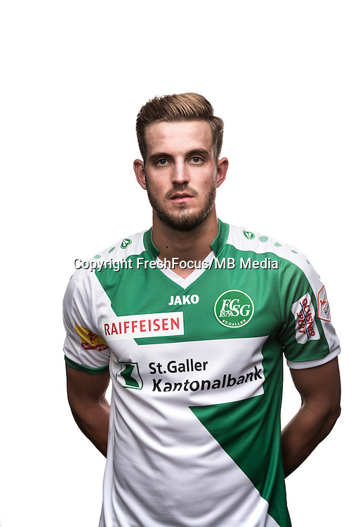 25.07.2016; St.Gallen; Fussball Super League - Portrait FC St.Gallen;<br />Roy Gelmi<br />(HO/freshfocus)