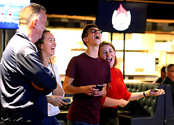 Fans take part in an interactive quiz at the Bristol Flyers 2017/18 launch event at Ashton Gate - Mandatory by-line: Robbie Stephenson/JMP - 11/09/2017 - BASKETBALL - Ashton Gate - Bristol, England - Bristol Flyers 2017/18 Season Launch