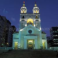 Catedral Metropolitana Nossa Senhora do Desterro, Florianopolis, Santa Catarina, Brasil, 06/04/2003 foto de Ze Paiva/Vista Imagens