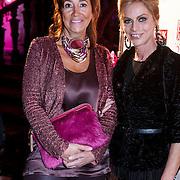 NLD/Amsterdam/20131111 - Beau Monde Awards 2013, Milika Peterzon en vriendin