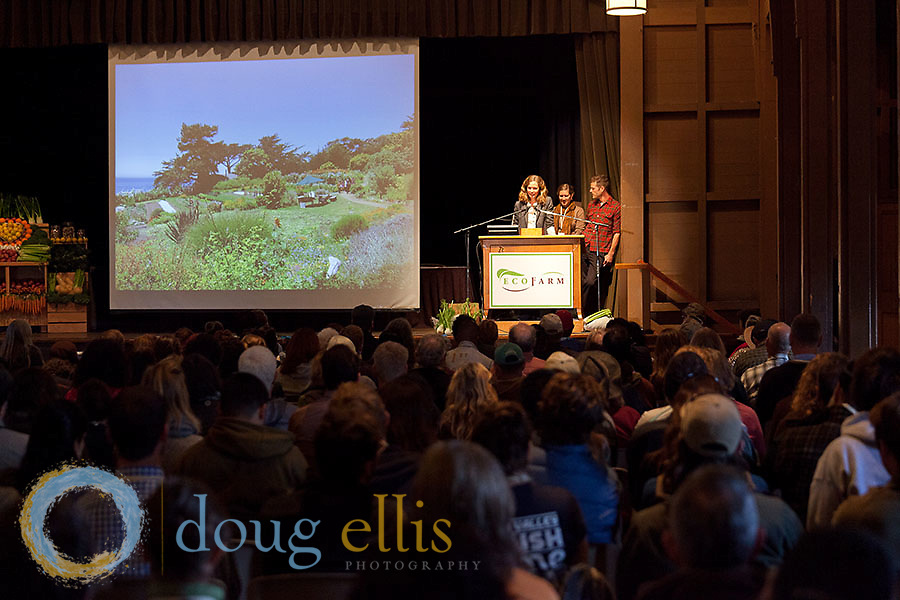 Esalen Institute Farm and Garden Crew at EcoFarm Conference, Asilomar.