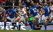 Twickenham, GREAT BRITAIN, Mathew TAIT, during the  England vs Italy, Six Nations Rugby match,  played at the  RFU Twickenham Stadium on Sat 10.02.2007  [Photo, Peter Spurrier/Intersport-images].....