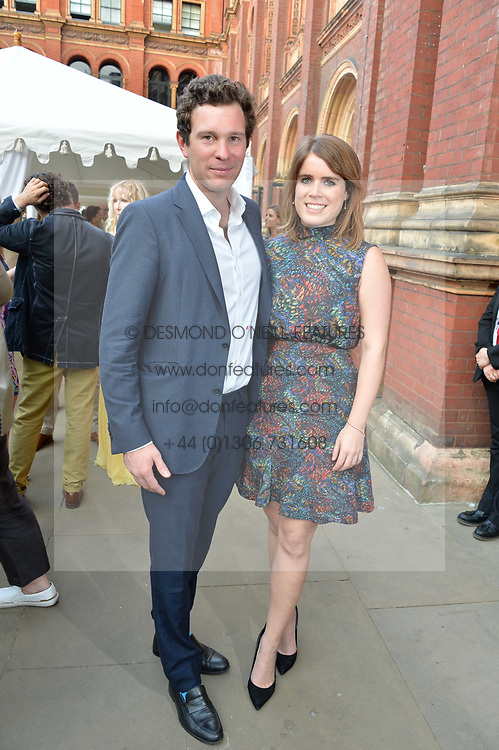 Jack Brooksbank and Princess Eugenie Of York at the V&A Summer Party 2017 held at the Victoria & Albert Museum, London England. 21 June 2017.<br /> Photo by Dominic O'Neill/SilverHub 0203 174 1069 sales@silverhubmedia.com