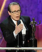 Steve Buscemi received Male Actor in a Drama Series. The 18th Annual Screen Actors Guild Awards were held at the Shrine Exposition Center in Los Angeles, CA 1/29/2012(John McCoy/Staff Photographer)