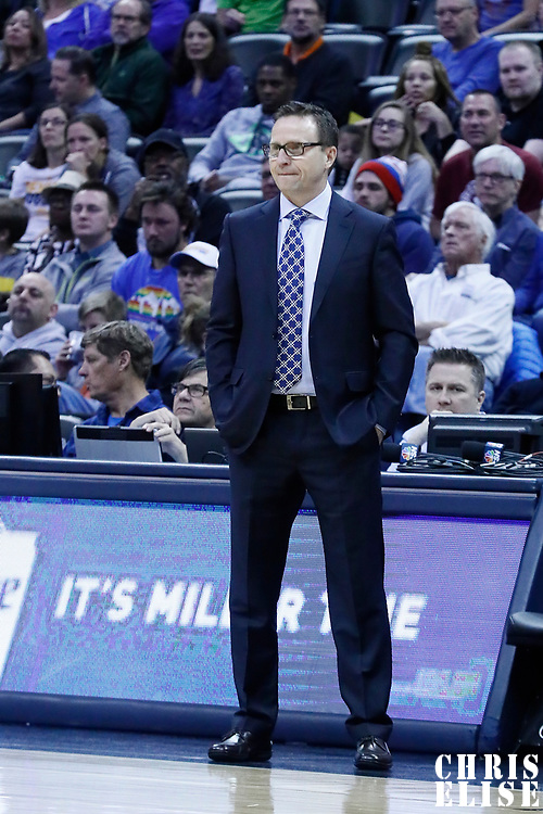 08 March 2017: Washington Wizards head coach Scott Brooks is seen during the Washington Wizards 123-113 victory over the Denver Nuggets, at the Pepsi Center, Denver, Colorado, USA.