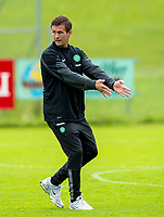 02/07/14<br /> CELTIC TRAINING<br /> AUSTRIA<br /> Celtic Manager Ronny Deila gives out instructions at pre-season trainining